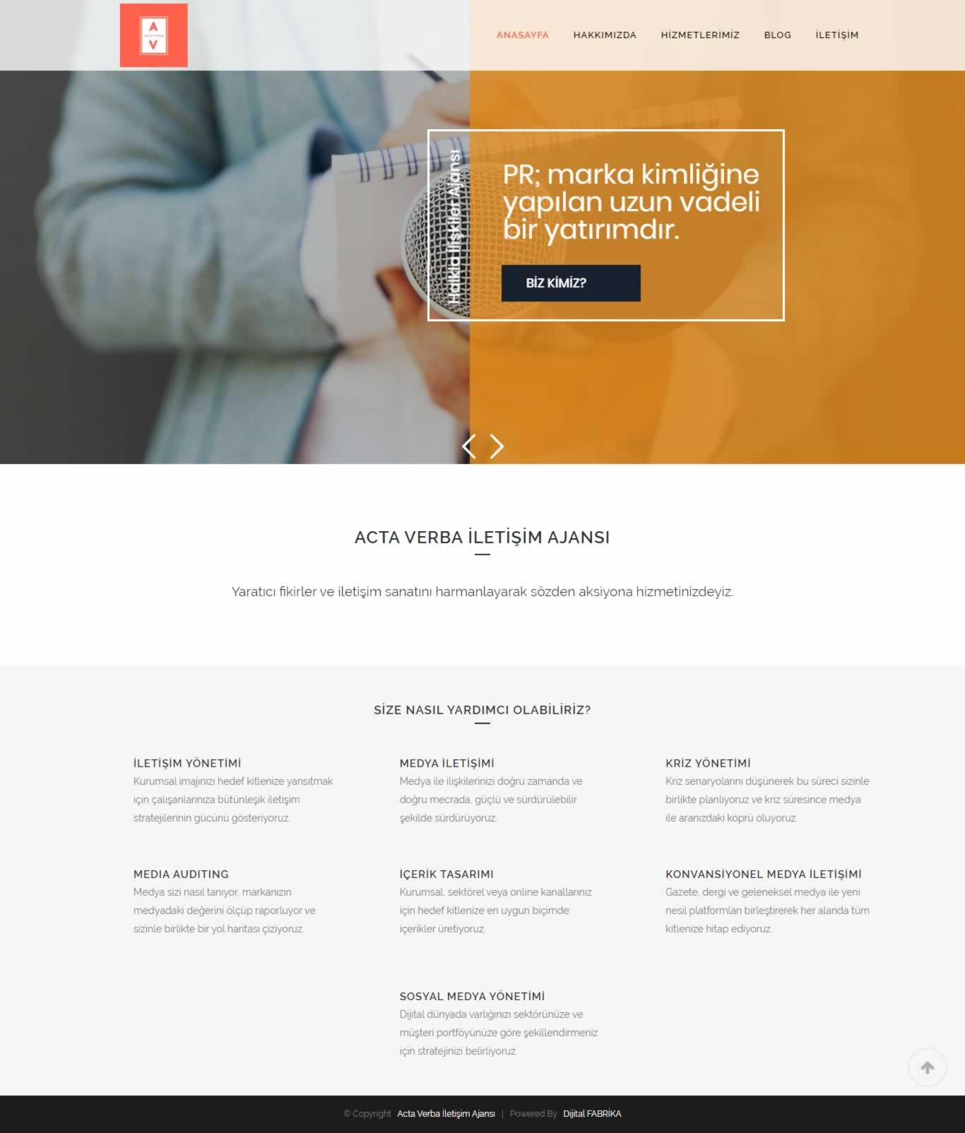 Acta Verba Web Tasarım